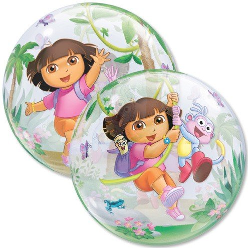 "22"" Dora the Explorer Boots Bubble Balloon"