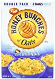 Post Honey Bunches of Oats with Almonds Cereal, 48-Ounce Box