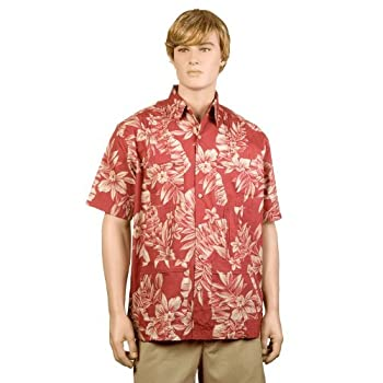 Rose Palm & Plumeria Hawaiiabera Shirt