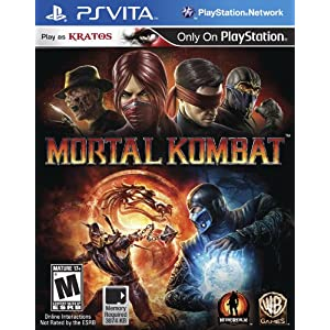 Mortal Kombat PS Vita Video Game