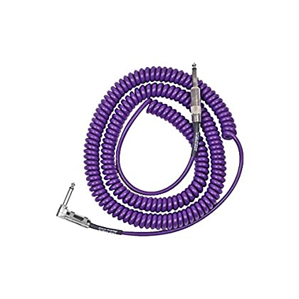 Lava Retro Coil 20 Foot Instrument Cable Straight-Right Angle Assorted Colors Purple discount price 2015
