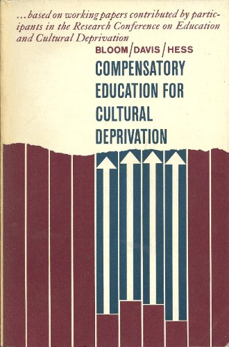 Compensatory Education for Cultural Deprivation. PDF