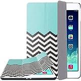 ULAK Tri-fold Slim Smart Cover Case Stand for iPad Mini/ iPad Mini 2 with Retina Display/ iPad Mini 3 (FOLLOW THE SKY)