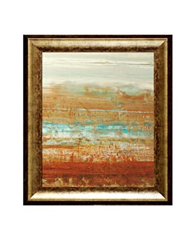 Lisa Carney Avr3012 Framed Giclée On Canvas