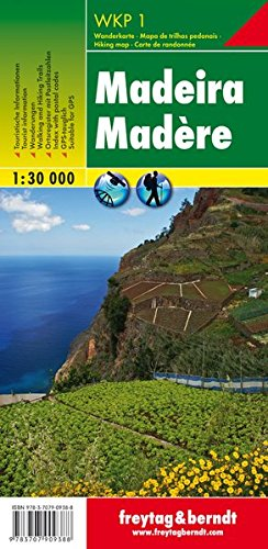 Madeira (Hiking, Cycling and Leisure)- WKP1 1:30K FB (Portugal) (English, French and German Edition) (Cycling Portugal compare prices)