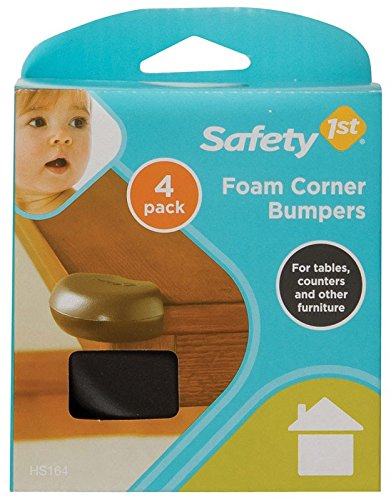 Safety 1st Corner Bumpers Brown Carded 4 / Pack - 1