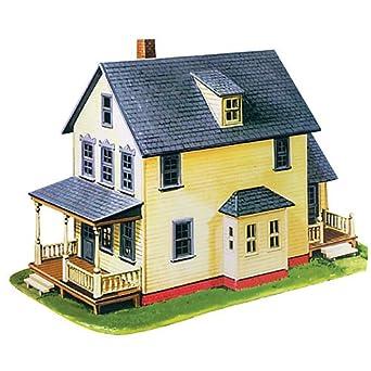 Model Power Ho Scale Building Kit Farm House