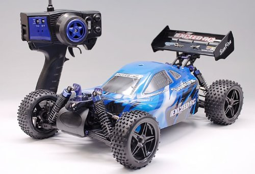 1/10 2.4Ghz Exceed Rc Electric Sunfire Rtr Off Road Buggy Storm Blue