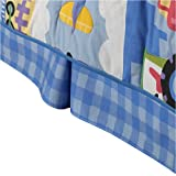 Olive Kids Trains, Planes, & Trucks Twin Bedskirt