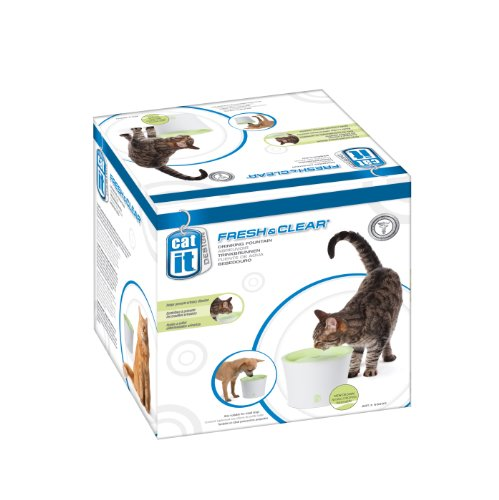 Hagen Catit Design Fresh and Clear Cat Drinking Fountain, Original