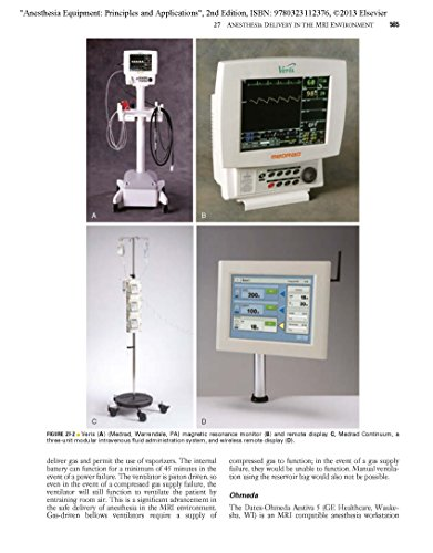 anesthesia equipment principles and applications pdf