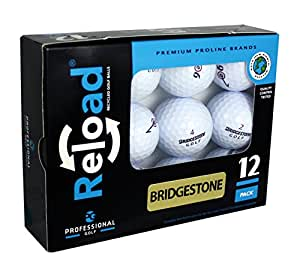 Reload Recycled Golf Balls (12-Pack) of Bridgestone Golf Balls