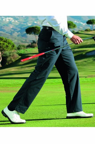 Glenmuir Mens Braid Thermolite Lined Golf Trousers 25% OFF - 36