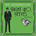 Right Ho, Jeeves Audiobook by P. G. Wodehouse Narrated by Jonathan Cecil