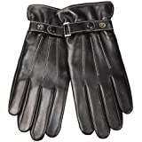 Warmen Men's Winter Touch Screen Texting Nappa Leather Gloves for Iphone Smartphone