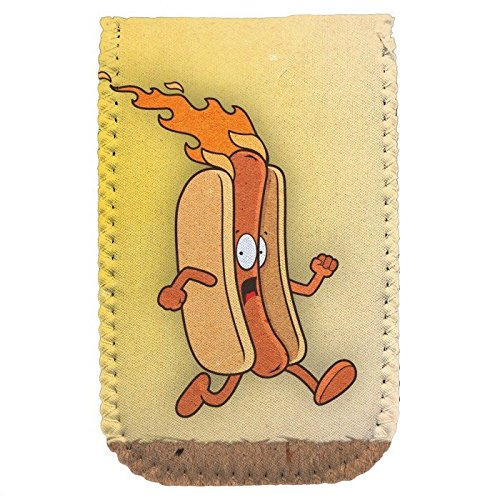 "Burning Hot Dog 6"" Mini Protective Pouch"