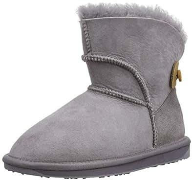 Emu Womens Alba Mini Mini Boots W10835 Ash 3 UK, 35 EU, 5 US, Regular