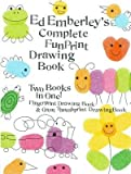 img - for Ed Emberley's Complete Funprint Drawing Book[EE COMP FUNPRINT DRAWING BK TU][Prebound] book / textbook / text book