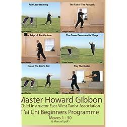 Tai Chi Beginners Programme
