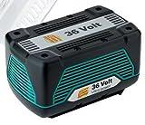Bosch Genuine 36V-Li Battery (4.5Ah, Li-Ion) c/w Large Battery Cover (These Bosch Batteries are used on Rotak 37Li & 43Li Ergoflex Lawnmowers) (Bosch Pt No F016800300 & 2607336005) c/w STANLEY KeyTape & Cadbury Chocolate Bar