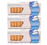 30 Stück Aromakapseln, je 10x APFEL, 10x KIRSCHE, 10x VANILLE SmokerFuchs® Aromakapseln Filter Depots mit 0,0 mg Nikotin - Depots im günstigen Sparset - für die elektronische Zigarette