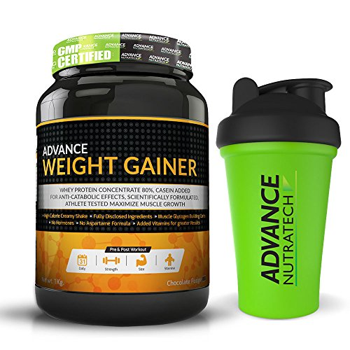 Advance-Weight-Gainer-1Kg-22LBS-Chocolate-free-shaker