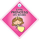 Little Princess On Board, Little Princess On Board Car Sign, Princess Car Sign, Baby on Board Sign, Baby On Board, Princess on Board, Princess Car Sign, Little Princess Car Sign, Bumper Sticker, Decal, Baby Sign, Baby Car Signsby iwantthatsign.com