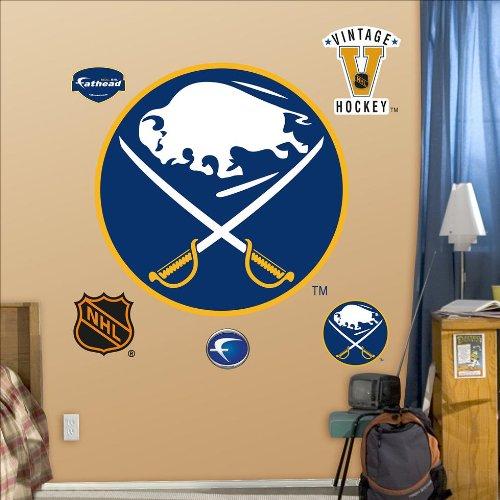 Fathead Fathead NHL Team Vintage Logo Wall Decal, Buffalo Sabres