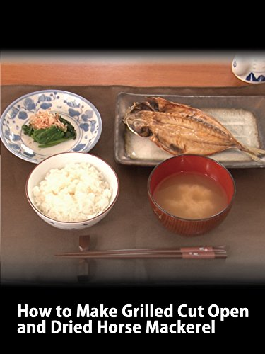 Clip: How to Make Grilled Cut Open and Dried Horse Mackerel