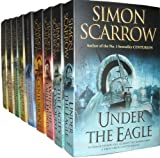 Simon Scarrow Collection 9 Books Set RRP 71.91 (The Eagle's Prophecy, The Eagle in theSand, The Eagle and theWolves, The Eagle's Prey, The Gladiator, Centurion, When the EagleHunts, The Eagle'sConquest,Under theEagle)(Simon Scarrow) Simon Scarrow