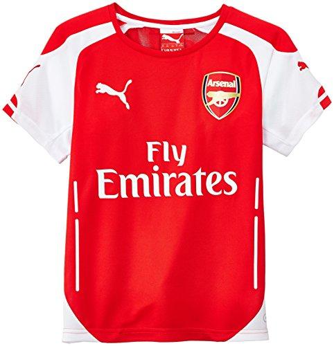 PUMA - Maglietta da bambino, Arsenal (AFC), Rosso (High Risk Red-White), 176