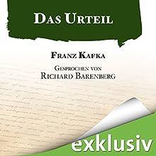 Das Urteil Hörbuch von Franz Kafka Gesprochen von: Richard Barenberg
