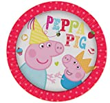 New Peppa Pig Party Range - Peppa Pig Party Plates x 8