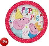 Gemma International - Piatti di carta per feste, motivo: Peppa Pig, confezione da 8