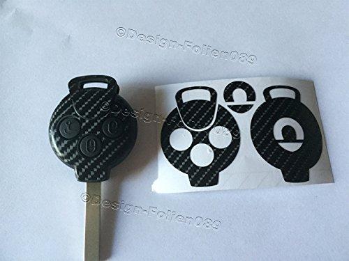 carbon-folie-foil-film-dekor-decor-cover-skin-schlussel-key-smart-cabrio-amg-fortwo-451-brabus-coupe