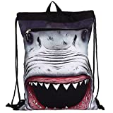 Mojo Shark Attack Costume Cinch Bag w' Shark Bandana
