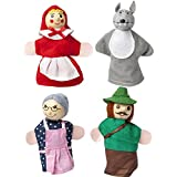 Little Red Riding Hood Story Telling Finger Puppets Nursery Rhyme Fairy Tale Aussie Animals