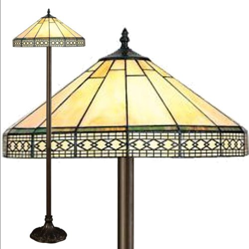 Mission Tiffany Floor Lamp