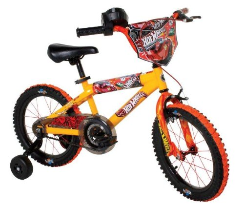 Hot Wheels Boys 16-Inch Bike