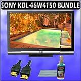Sony Bravia W-Series KDL-46W4150 46in. 1080P LCD HDTV + Accessory Kit
