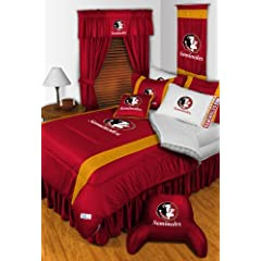 Florida State Seminoles QUEEN Size 14 Pc Bedding Set (Comforter, Sheet Set, 2 Pillow... by Sports Coverage