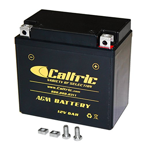 CALTRIC AGM BATTERY Fits HONDA TRX450ER TRX-450ER 2006-2009 2012-2014 (2014 Honda 450 compare prices)