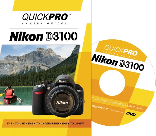 Nikon D3100 Instructional Dvd By Quickpro Camera Guides