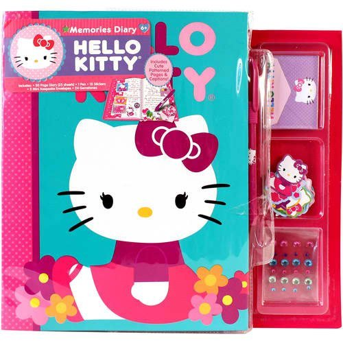 Hello Kitty Memories Diary Kit