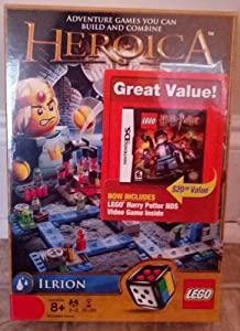 Heroica Ilrion Lego 3874 Bonus LEGO HARRY POTTER NINTENDO DS GAME INCLUDED