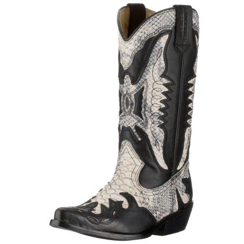 Kentucky Western Boots Women black schwarz/hell (Black) Size: 6 (39 EU)