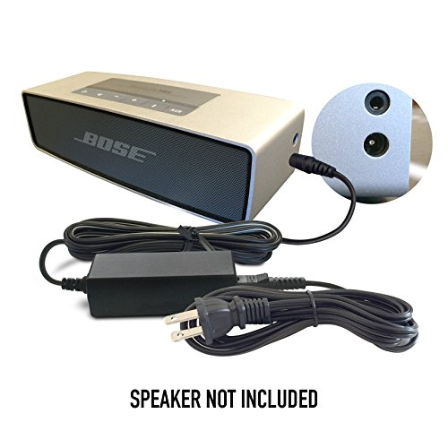 ABC Products Replacement Bose 12V / 12 Volt Ac Mains Battery Charger Adapter Adaptor Power Supply Cord PS71, PS51, PS72, PS73, PS74, PS77, JOD-48U-08A, PT 263027 for Companion 2 (Series II and III) Multimedia Speaker System, Lifestyle 12, 20, 25, 40 Music System Center, SoundLink MINI, SoundDock XT Bluetooth Speaker etc (Bose Soundlink Mini Power Cord compare prices)