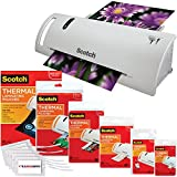 Scotch Thermal Laminator Combo Pack Holds Sheets Up To 8.5
