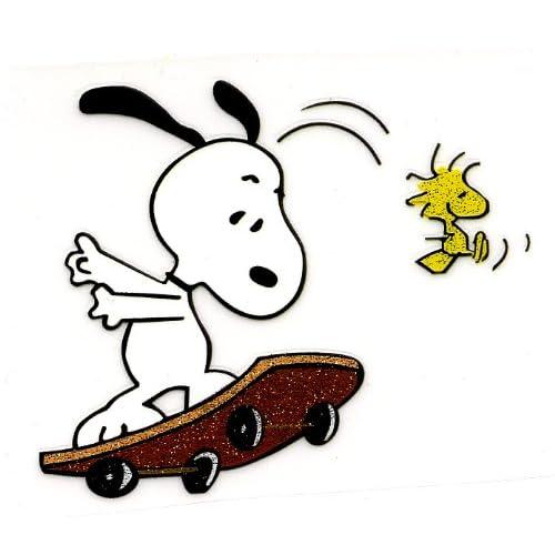 Snoopy On Skateboard
