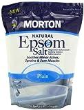 Morton Epsom Salt, Plain U.S.P., 4 Pound